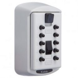 KIDDE 1370 2-KEY SAFE WHITE