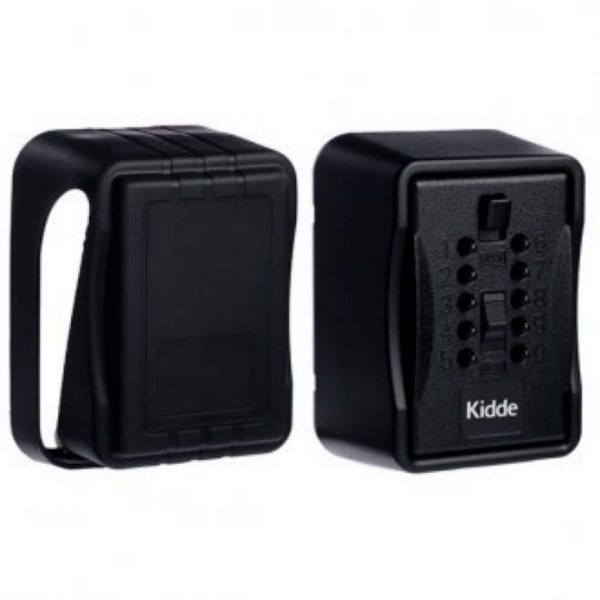 KIDDE 1267 KEY SAFE BLACK with COVER (S7)