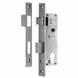 AUSTYLE 9200 STAINLESS STEEL EURO MORTICE LOCK NARROW