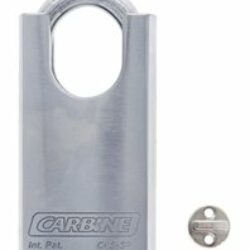 Carbine C45 Steel Protected Padlock, 8MM X 30MM MOLY SHACKLE, Keyed to Differ , Boxed Single